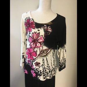 Beaded Pierri New York Sweater size M